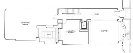 Ground floor plan architect w1