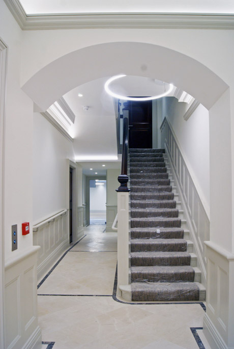 medical entrance harley street w1